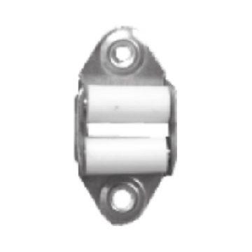 Guidacinghia verticale 2 rullini PVC