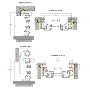 Incasso Lateral Duplex Top Line