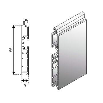 Terminali ad attacco normale 9×55 mm