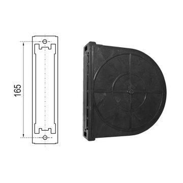 Cassetta per avvolgitore da 165 mm