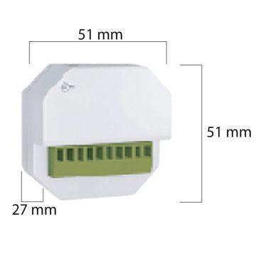 Centralina wireless monocanale per tapparella