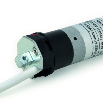 Motoriduttore senza manovra di soccorso per rullo Ø 40 mm