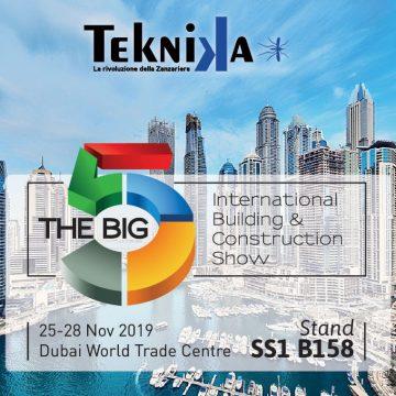 Teknika al BIG 5 DUBAI 2019