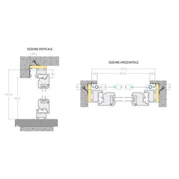 Incasso Lateral Comfort Duplex 42