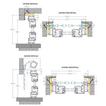 Incasso lateral comfort duplex top line