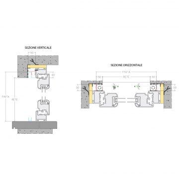 Incasso Lateral Duplex 50